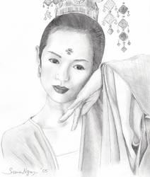 Ziyi Zhang by namky