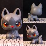 Poochyena Littlest Pet Shop custom