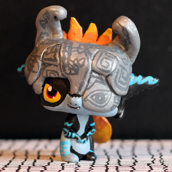 how to make lps bows out of clay