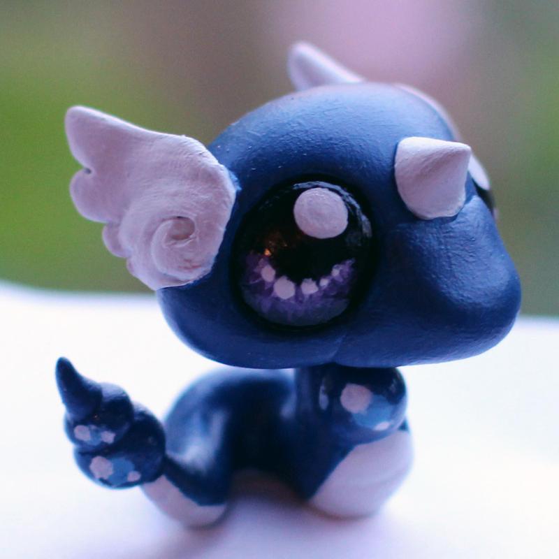 Dragonair inspired LPS custom by pia-chu