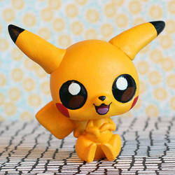 Pikachu Littlest Pet Shop custom