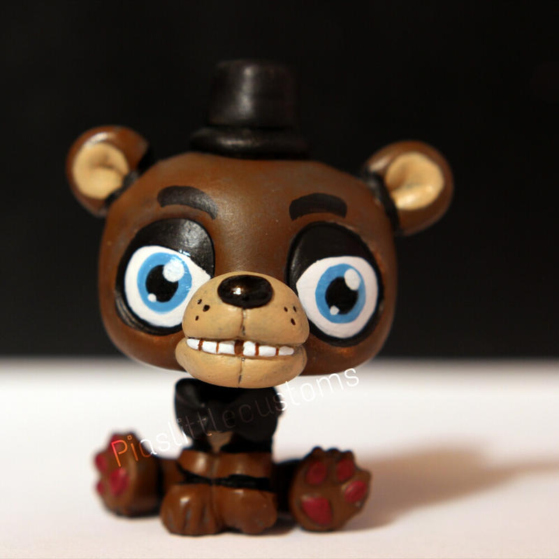 Freddy Fazbear From FNAF LPS Custom By Pia chu On DeviantArt