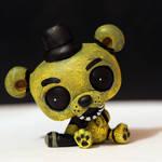 Golden Freddy from FNAF LPS custom