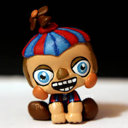 Balloon Boy (BB) from FNAF2 inspired LPS custom