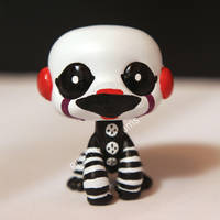 Marionette / Puppet from FNAF2 inspired LPS custom