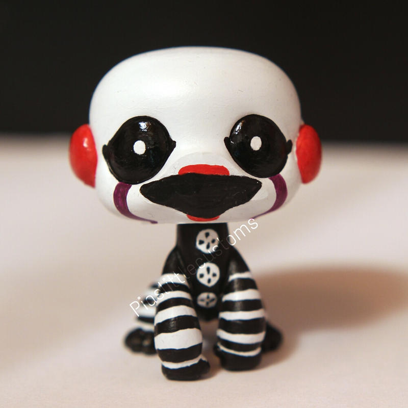 Marionette Puppet From FNAF2 Inspired LPS Custom By Pia