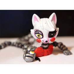 Broken Mangle from FNAF2 inspired LPS custom