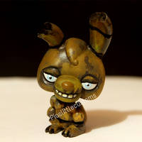 Springtrap from FNAF 3 LPS custom
