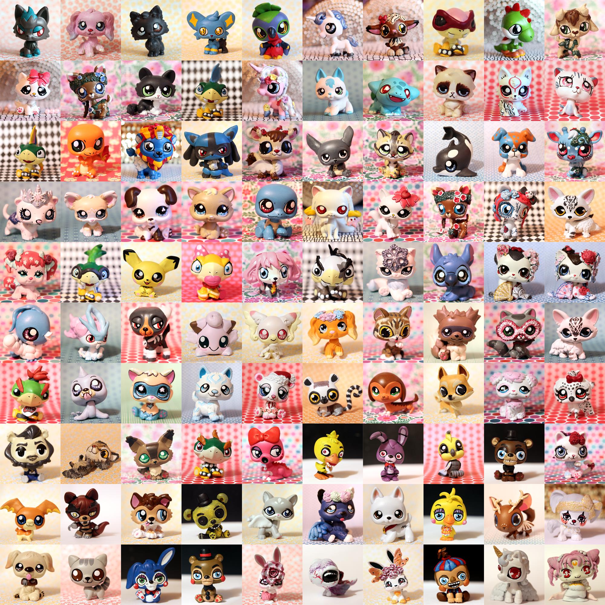 Customs 201 - 300! by pia-chu