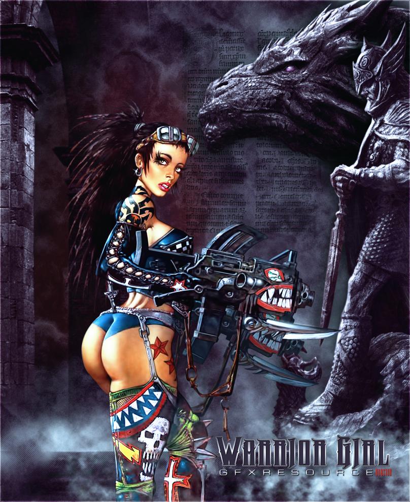Warriorgirl porn naked image