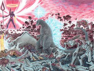 GODZILLA VS EVANGELION.
