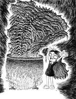 CLAIRE: THE SUMMONING. by MRGODZILLAJODEDOR
