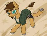 Pony OC: Crunchy