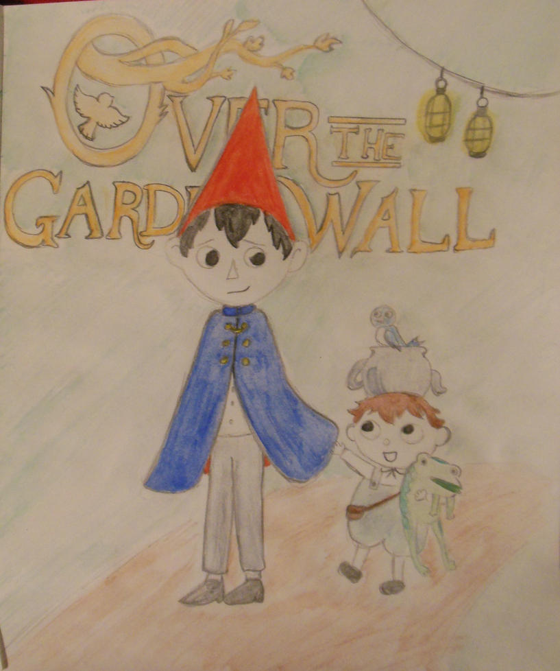 Over the garden wall by calicocat123