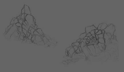 Rock Formations by Alexeji