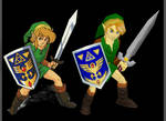 Link a Link to the Past N64 mod