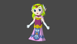 Zelda wind waker rigged
