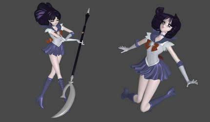Sailor Saturn Manga mesh mod