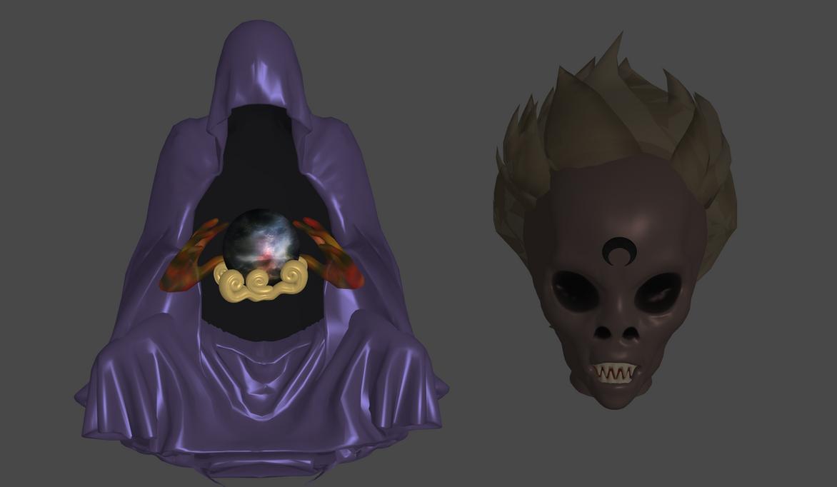 Wiseman/Death Phantom by Lopieloo