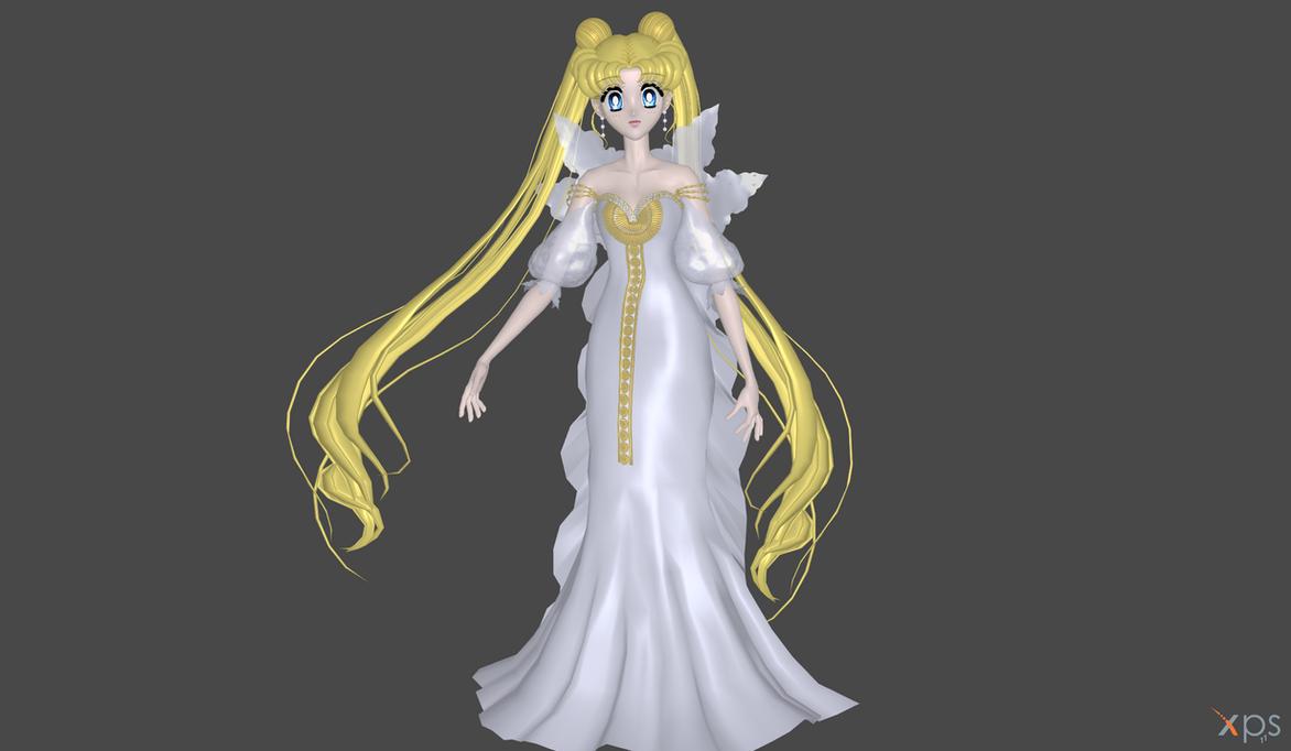 Usagi Nemesis dress mod by Lopieloo