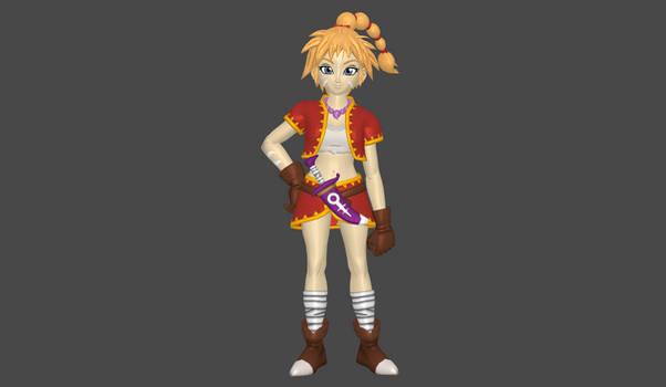 Kid Toriyama style mod