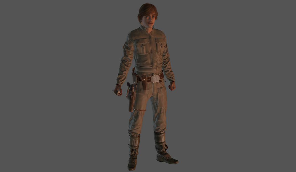 Luke Skywalker Bespin mesh mod by Lopieloo