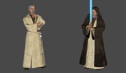 Ben Kenobi mesh mod by Lopieloo