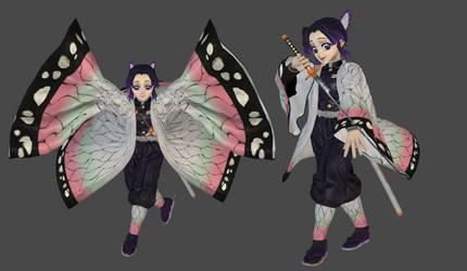 Shinobu Kocho mesh mod