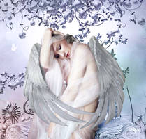 Angel in Repose by Wildfire2003