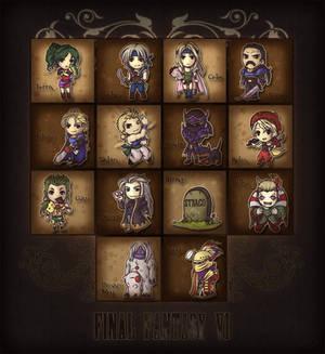 Final Fantasy VI SD Mural