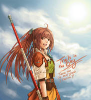 Trails in the Sky - Estelle by Dice9633
