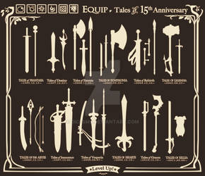 Tales of Weapons 15 th Anniversary by DiceSMS