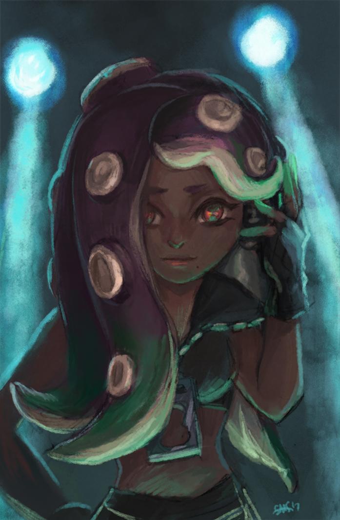 85 Marina - Splatoon 2 by Dice9633