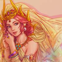FF1 - Princess Sarah by Dice9633
