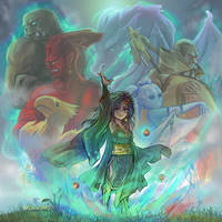 FF4 - Rydia of Mist by Dice9633
