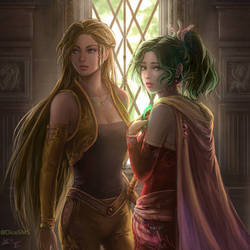 FF6 - Terra and Celes by DiceSMS