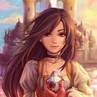 FF9 - Princess Garnet by Dice9633