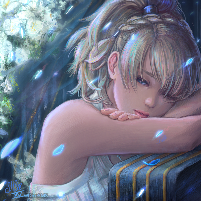 FF15 - Luna by Dice9633