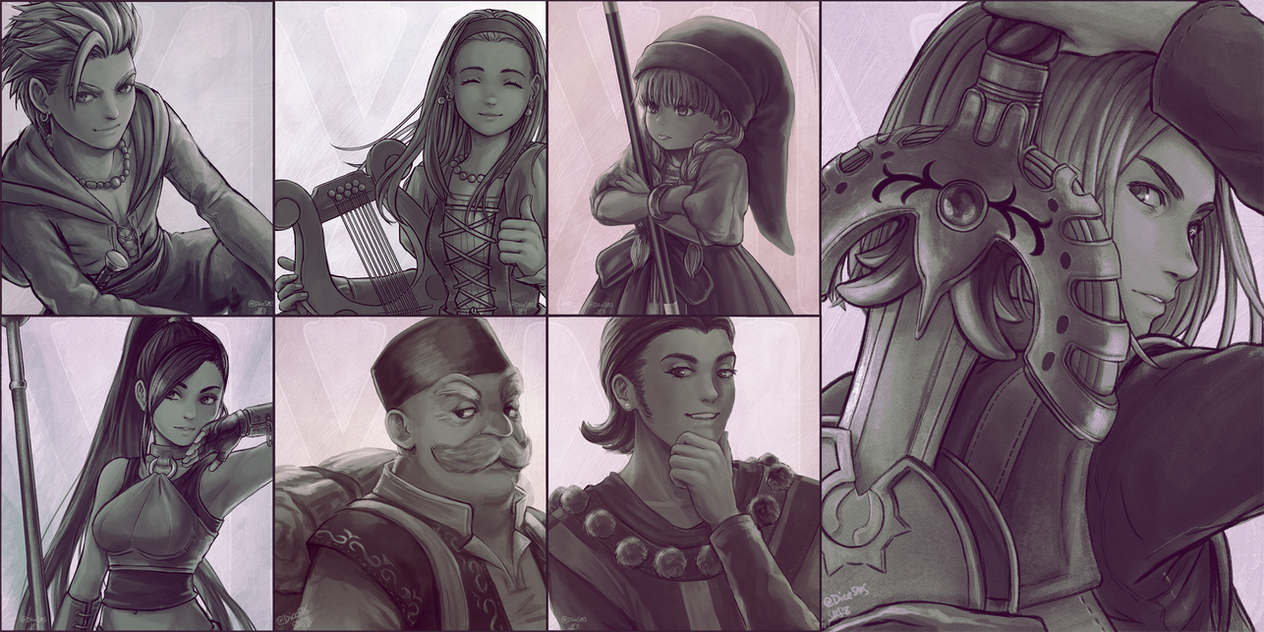 Dragon Quest 11 by Dice9633