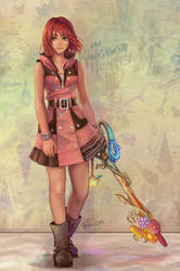 Kairi - KH3 again by Dice9633