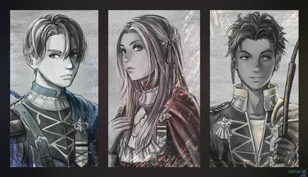 Fire Emblem - Three Houses by Dice9633
