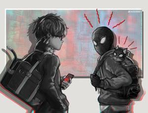 136 - Phantom Cat and Spider-Cat
