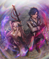 Rean and Narmaya