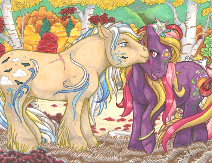 Warm Autumn Greeting by equigoyle
