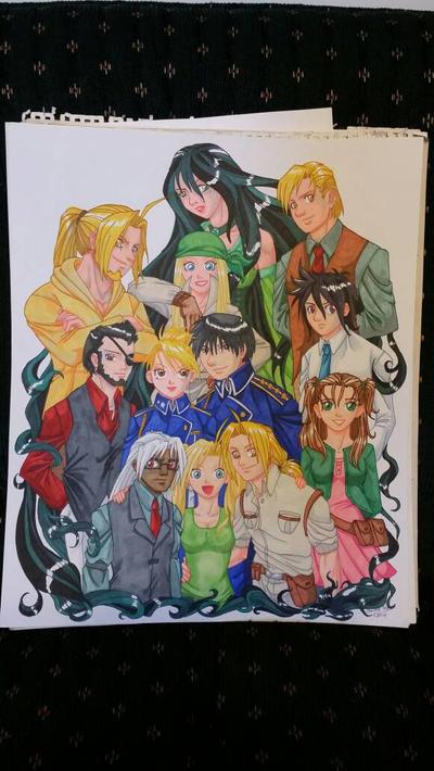 Fullmetal Alchemist Legacy Poster by equigoyle