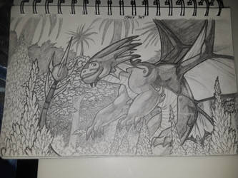 Dragon Flight by equigoyle