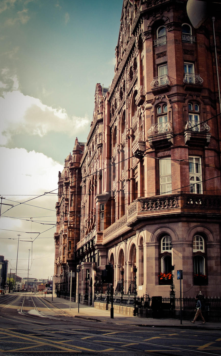 Streets of Manchester by keep-smiling-lila