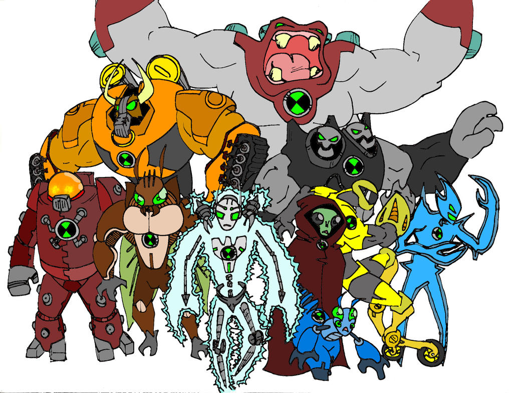 Another set of ben 10 aliens by bigafroman on deviantart another set of ben 10 aliens by bigafroman voltagebd Gallery