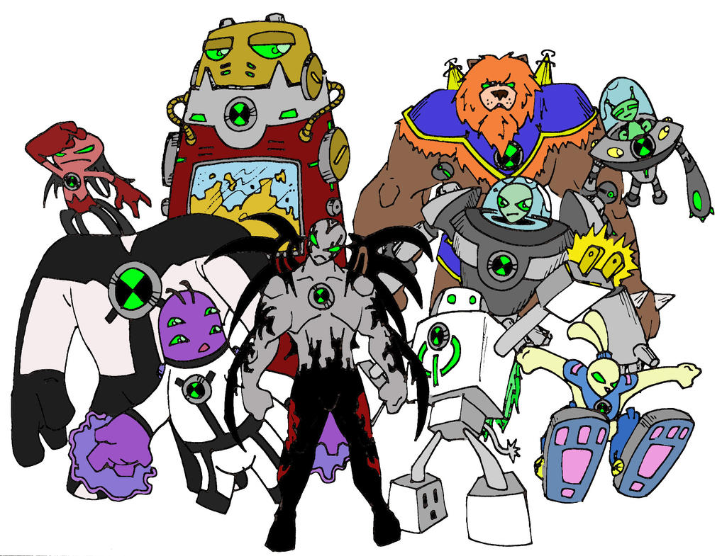Last set of ben 10 aliens by bigafroman on deviantart last set of ben 10 aliens by bigafroman voltagebd Images