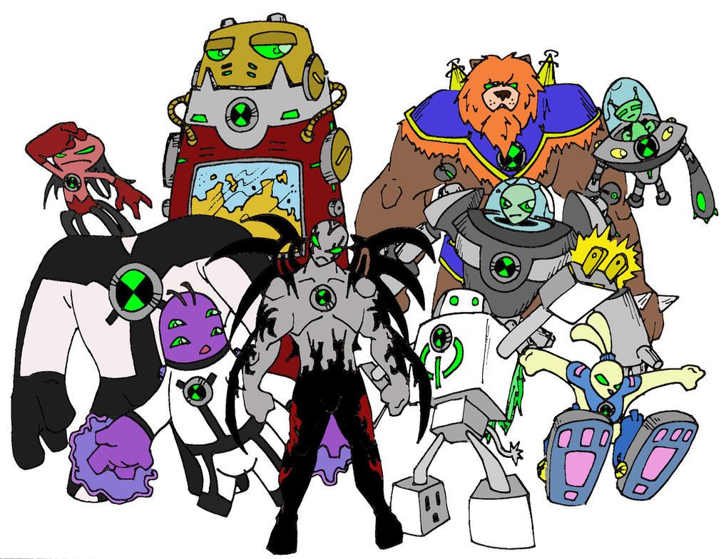 Last set of ben 10 aliens by bigafroman on deviantart - Ben ten alien x ...